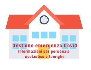 Informazioni per la gestione dell'emergenza Covid a scuola